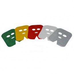 Gesichtsmaske aus Folie